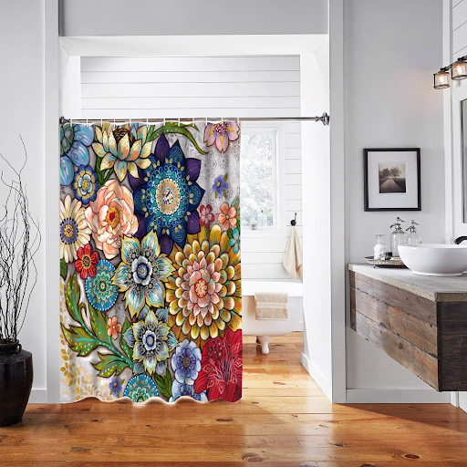 Designer Shower Curtains: To Kill The Boredom In Bathroom